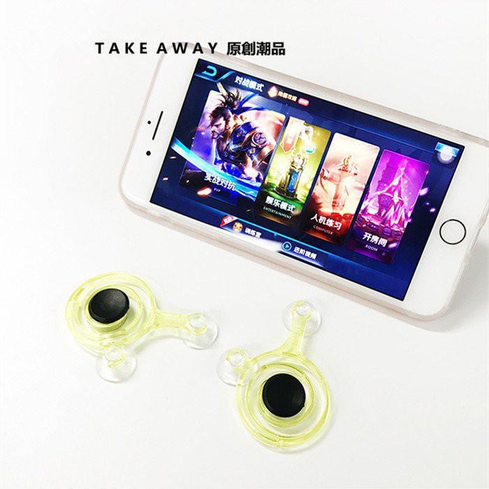 Bộ phụ kiện hỗ trợ chơi game trên điện thoại Mobile Joystick HOT