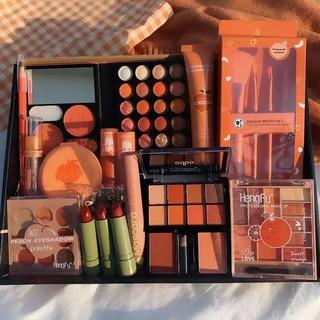 Bộ trang điểm Makeup cá nhân đầy đủ gồm 17 món trang điểm,dành cho các Nàng hay phải Makeup.Tặng kèm 1 cây chì kẻ mày thumbnail