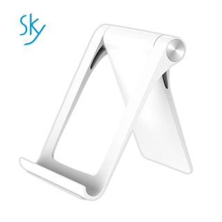 Tablet Stand For Ipad Samsung Universal Foldable Adjustable Mobile Phone Stand For Iphone 5 6 7 X White