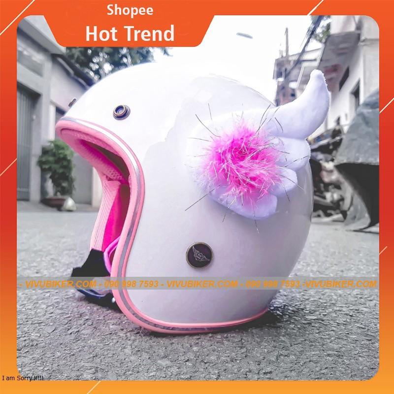 Cánh thiên thần chính hãng gắn nón bảo hiểm - Cánh cupid, cánh FungFing, Fung Fing Thái Lan màu hồng