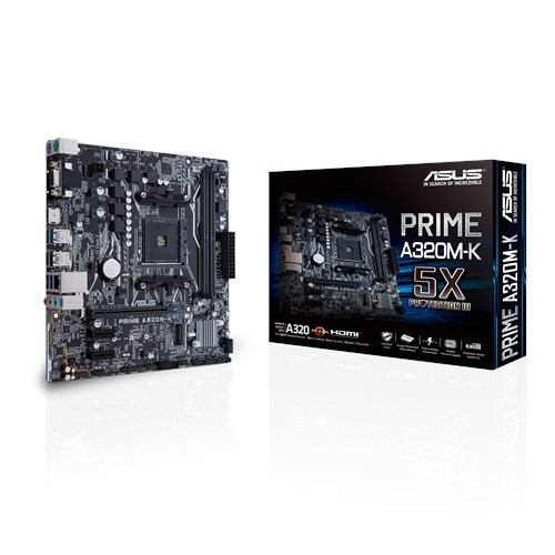 Bo mạch chủ Mainboard ASUS PRIME A320M-K ( A320M )
