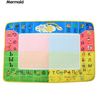 Russian Magic Water Drawing Doodle Mat with Painting Pen Kids Toy