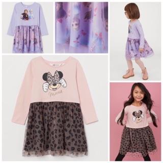 Váy HM chân voan Minnie cho bé gái [Ảnh thật+video]