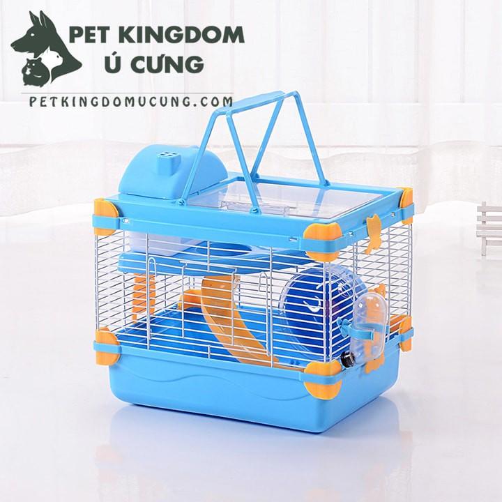 Lồng hamster hoàng tử hai tầng
