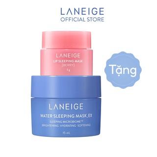 [HB GIFT] Bộ đôi mặt nạ ngủ LANEIGE Water & Lip Sleeing Mask Minisize thumbnail