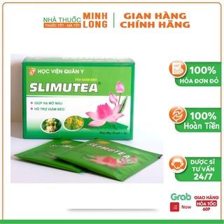 Trà giảm béo Slimutea HVQY- hỗ trợ giảm béo kết hợp với tập luyện và ăn uống hợp lý ( hộp 20 thumbnail
