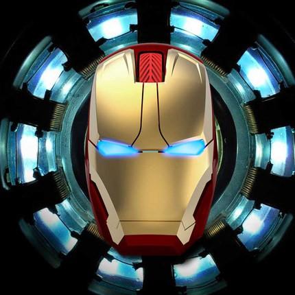Marvel chuột bluetooth cao cấp IronMan Tặng kèm Lót chuột Giá chỉ 230.000₫