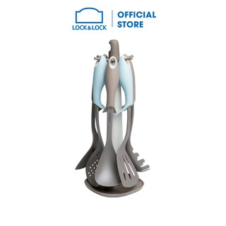 Bộ dụng cụ nhà bếp 7P Lock&Lock - màu xám - CKT415 thumbnail