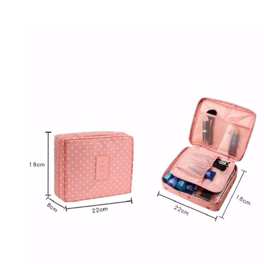 Túi đựng mỹ phẩm chống nước, túi đựng đồ du lịch cá nhân 1320 dvg