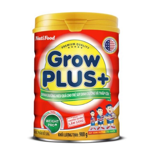 SỮA GROW PLUS ĐỎ NUTIFOOD 900G DATE