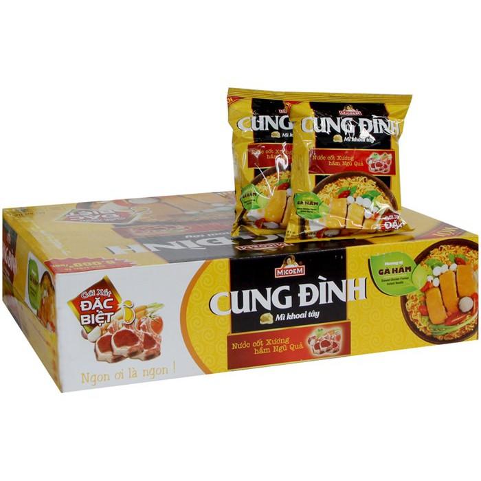 Mì ăn liền Cung Đình thùng 30 gói - 2984597 , 730572384 , 322_730572384 , 145000 , Mi-an-lien-Cung-Dinh-thung-30-goi-322_730572384 , shopee.vn , Mì ăn liền Cung Đình thùng 30 gói