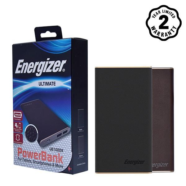 Pin sạc dự phòng Energizer 10,000mAh (Luxury Leather) -Energizer Luxury  UE10009 - Hàng chính hãng - Bảo hành 2 năm