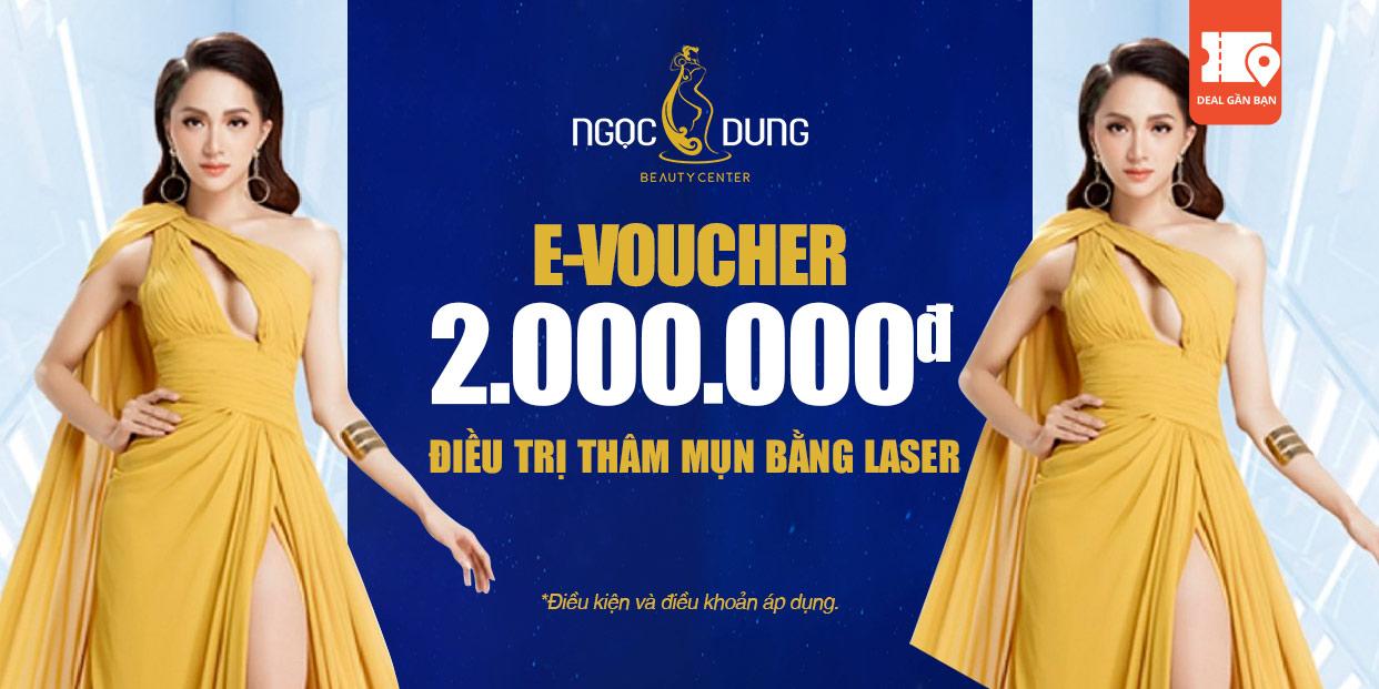 E-Voucher TMV Ngọc Dung Điều Trị Thâm Mụn Bằng Laser