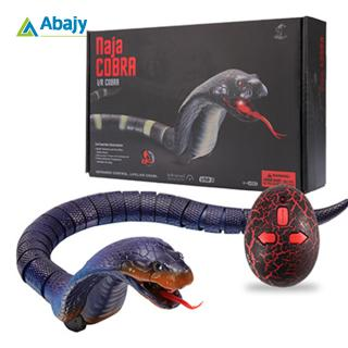 ABS Material High Imitation Snake Animal Toy Funny Prank Toy with Remote Control for Children