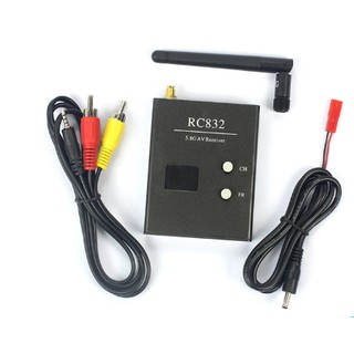 VRX RC832 600mW 5.8Ghz 48CH FPV AV Receiver ( SMA)