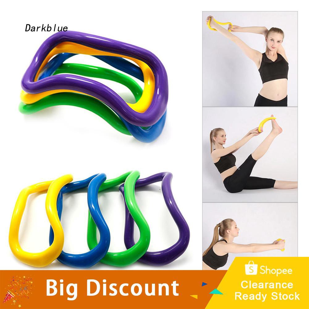 DKBL_Gym Fitness Exercise Pilates Yoga Ring Bodybuilding Training Stretching Circle