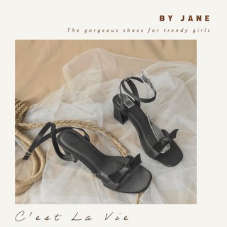 Elise sandal lụa Satin - giày thiết kế By Jane