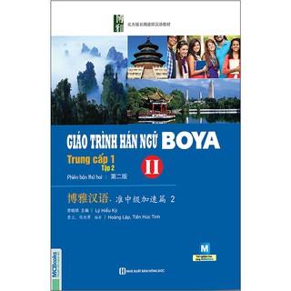 [Mã LIFEHOT1505 giảm 10% đơn 99K] Sách - Giáo trình Hán ngữ Boya trung cấp 1 tập 2 - MCbooks