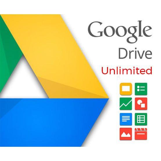 Tài khoản Google Drive Unlimited không giới hạn Giá chỉ 249.000₫