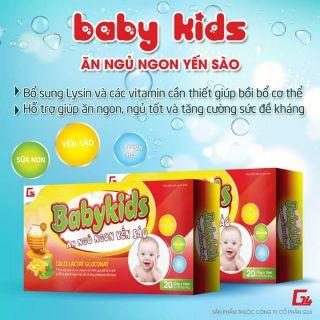 BaBy Kids Yến Sào Ăn ngủ ngon