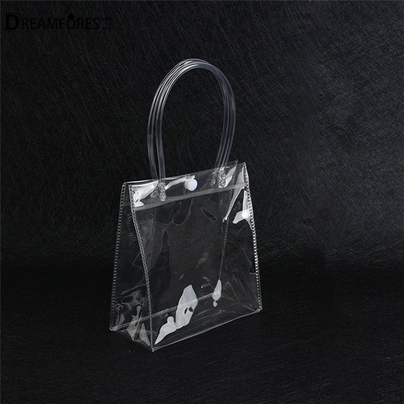 Túi đựng chai rượu chống trào bằng nhựa PVC trong suốt