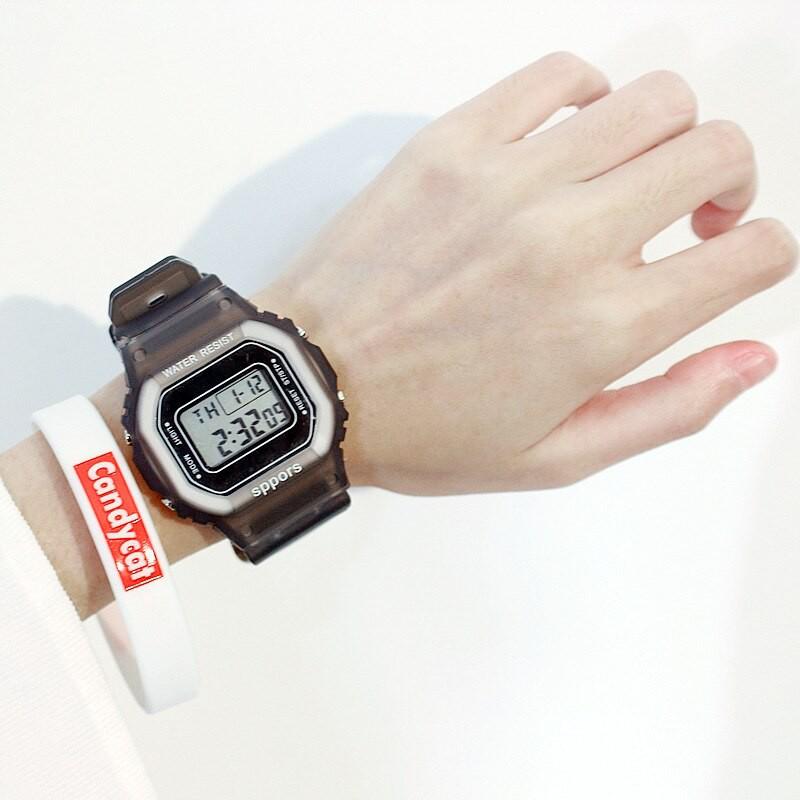 Đồng hồ điện tử FREESHIP Đồng hồ điện tử nam nữ Candycat Sppors chống trầy xước, chống thấm nước hiệu quả 9036