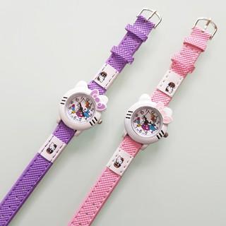 Đồng hồ kitty dể thương cho bé gái