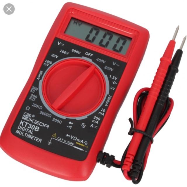 Đồng hồ vạn năng KT30B - 3173502 , 1118933356 , 322_1118933356 , 280000 , Dong-ho-van-nang-KT30B-322_1118933356 , shopee.vn , Đồng hồ vạn năng KT30B