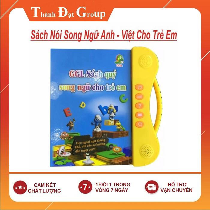 Sách Điện Tử Song Ngữ Anh- Việt Giúp Trẻ Học Tốt Tiếng Anh tặng kèm bút cả