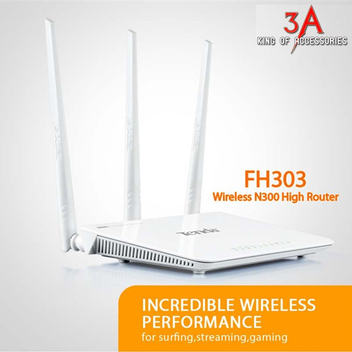 Phát WireLess Tenda F303 - 3 anten