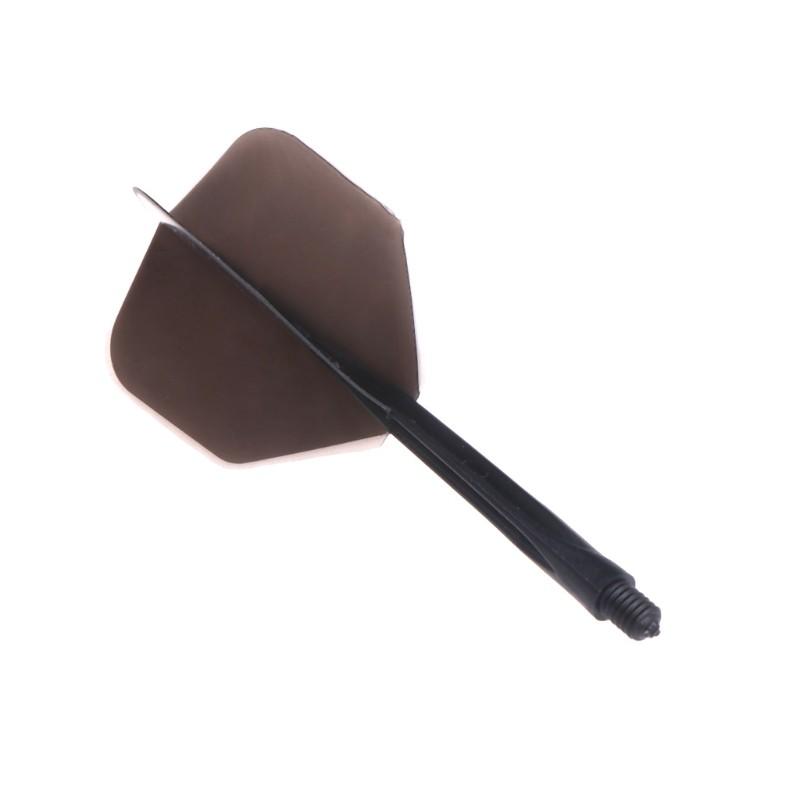 6pcs Plastic Professional Dart Flights 2BA Screw Soft Durable 80mm Darts Tail