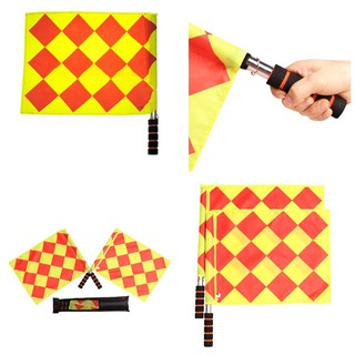 1pc New Football Referee Flag World Cup Fair Play Sports Game Flag