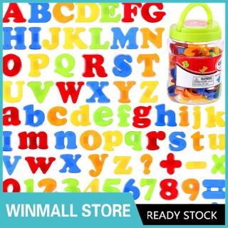 78pcs/set Magnetic Letters Numbers for Kids Educational Alphabet Refrigerator Magnets