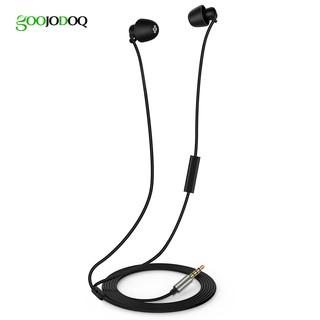 Tai nghe nhét tai GOOJODOQ sử dụng công nghệ giảm tiếng ồn thích hợp dùng nghe nhạc trước khi ngủ