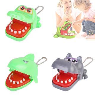 Funny Crocodile Big Dentist Mouth Finger Bite Family Toy U4E1
