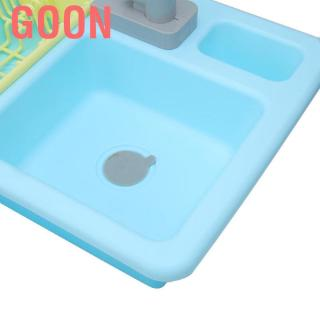 Goon Children Kid Role Play Simulated Kitchen Sink Parent Interaction Pretend Toy