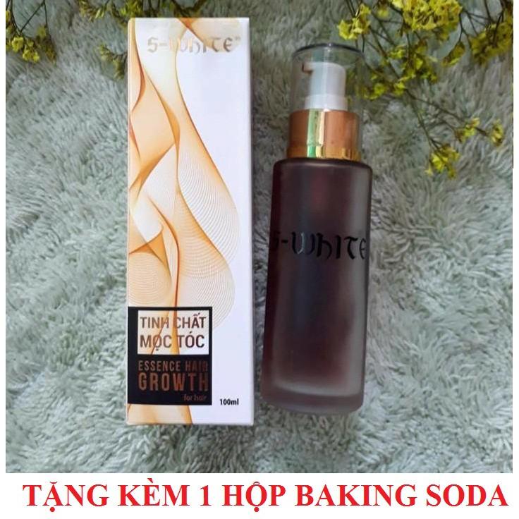 Tinh chất kích mọc tóc Swhite 100ml + Tặng 1 hộp tẩy trắng răng Baking Soda 50g trị giá 50.000đ