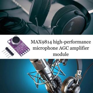 Mô-Đun Khuếch Đại Âm Thanh Micro Max9814 H8S6 thumbnail