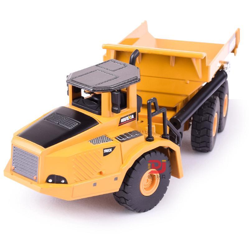 Children's Sliding Engineering Toy Car Simulation Dump Truck Model