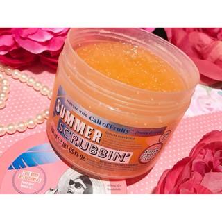 Tẩy Tế Bào Chết Body SOAP & GLORY Summer Scubbin' Call Of Fruity 300ml