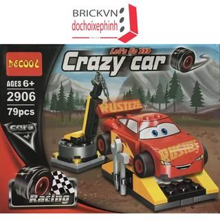 Bộ xếp hình Vương Quốc xe hơi – Lightning McQueen 2