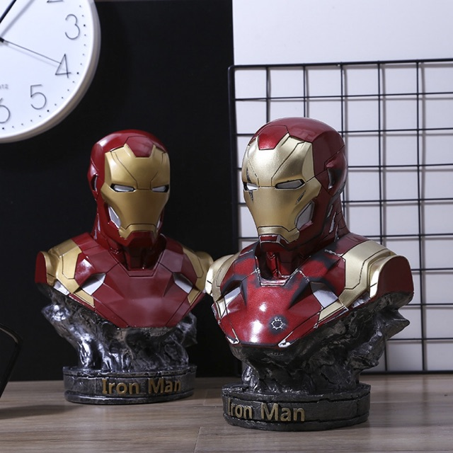 Mô hình Đầu Tượng Người sắt Iron Man Mk46 cao 36cm (Tỷ lệ 1/2)