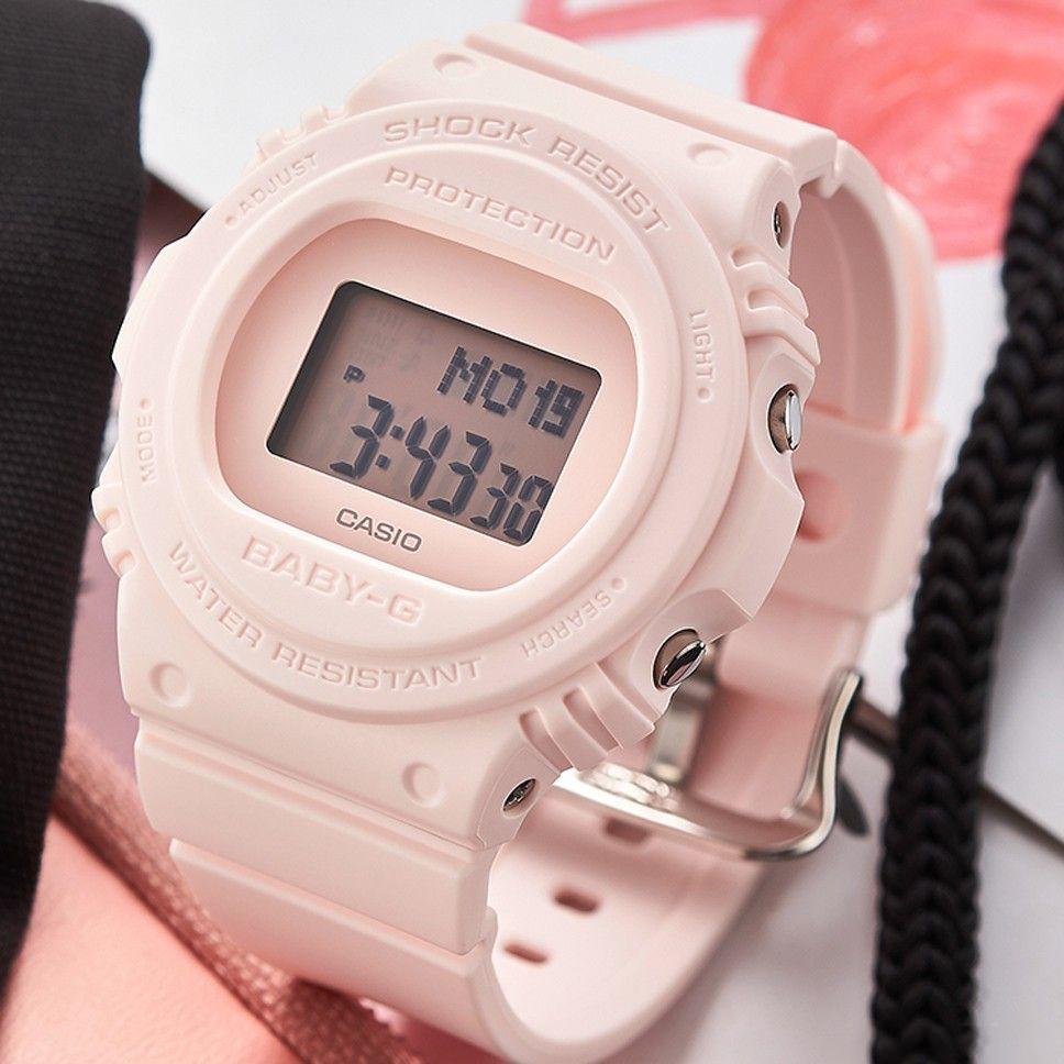 Đồng hồ nữ dây nhựa Casio Baby-G chính hãng Anh Khuê BGD-570-4DR