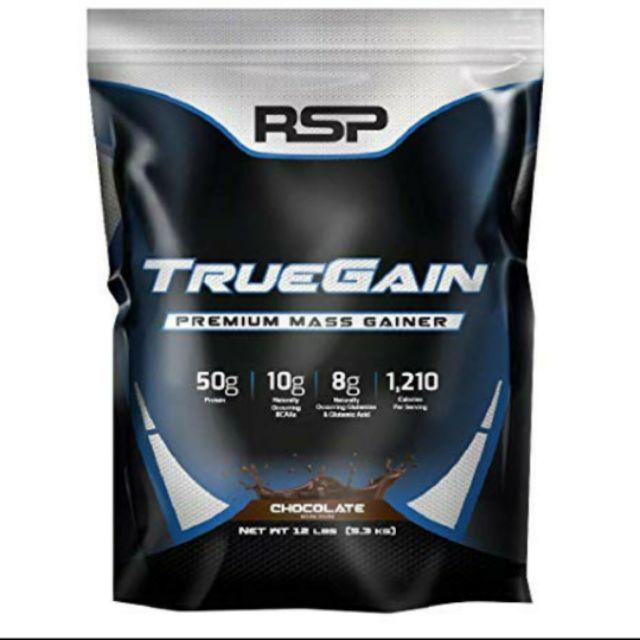 SỮA TĂNG CÂN TĂNG CƠ RSP TRUEGAIN (5,5kg)-100% authentic