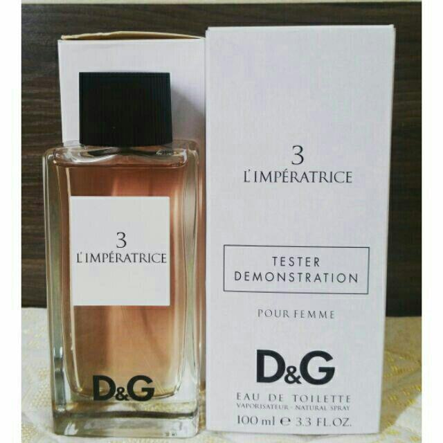 Nước hoa D&G 3 L