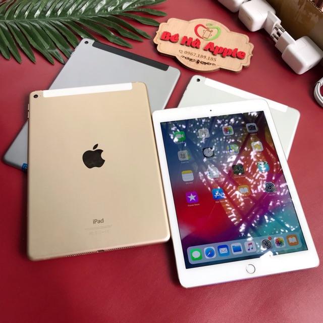 Máy Tính Bảng iPad Air 2 (4G + Wifi) 16Gb / 32Gb / 64Gb / 128Gb - Zin Đẹp 99% - Có Vân Tay / Ram 2Gb / Chip A8X 3 nhân   SaleOff247