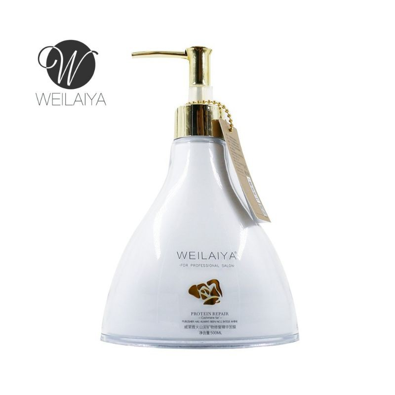 Kem hấp ủ bùn khoáng Weilaiya phục hồi tóc xơ tổn