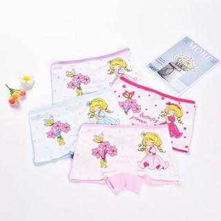 Quần chip đùi bé gái,chất cotton mềm mịn,quần lót cho bé từ 8-25kg