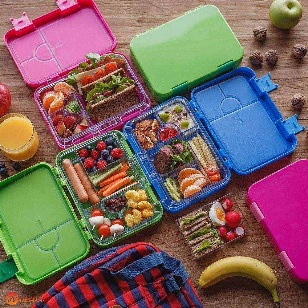 ❥ Sealed lunch box lunch box with variable compartment Gdth