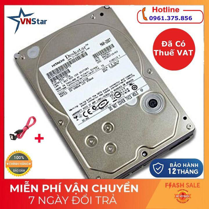 Ổ Cứng HDD Hitachi 500GB Tặng Cáp Sata 3 Giá chỉ 350.000₫